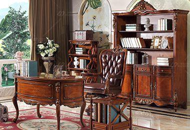 经典美式家具实木沙发定制的五个特点