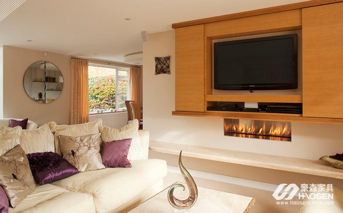 客厅实木电视柜尺寸一般选择多大?美式家具电视柜尺寸介绍