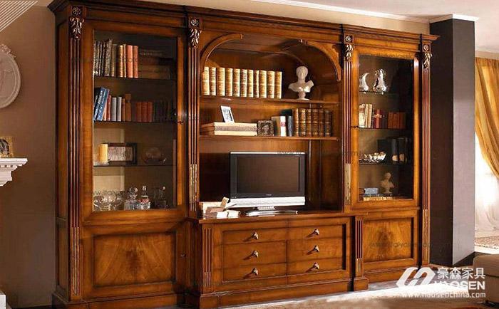高档欧式定制书柜有哪些优势?高档欧式定制书柜品牌介绍