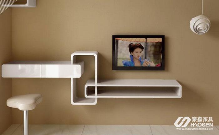 小户型卧室里电视柜该如何摆放?小户型卧室电视柜的摆放