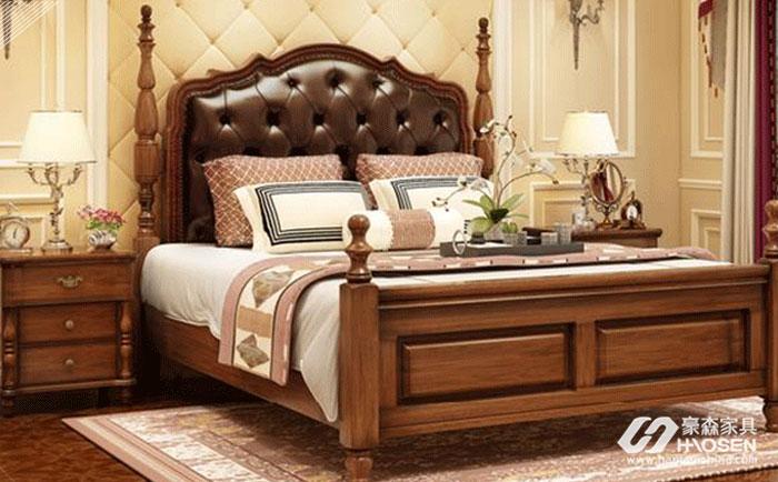 定制美式床哪家好?定制高档美式实木床品牌介绍