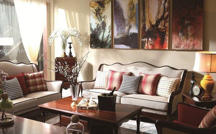 小美式沙发的特点有哪些?小户型小美式实木沙发特点介绍