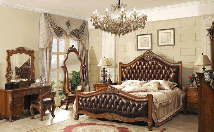 美式风格床头柜尺寸介绍
