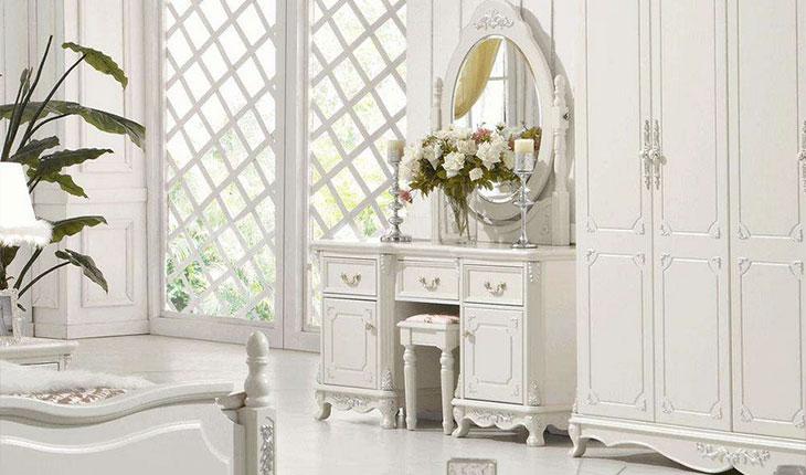 卧室欧美家具—欧美风格梳妆台的保养技巧