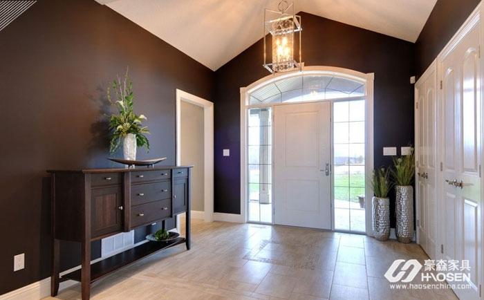 美式家具搭配技巧,打造最美玄关隔断