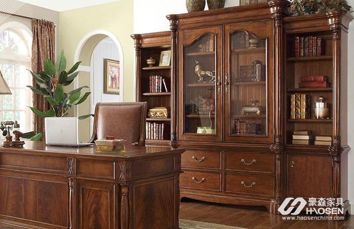 欧式书柜的样式特点有哪些?欧式风格书柜特点介绍