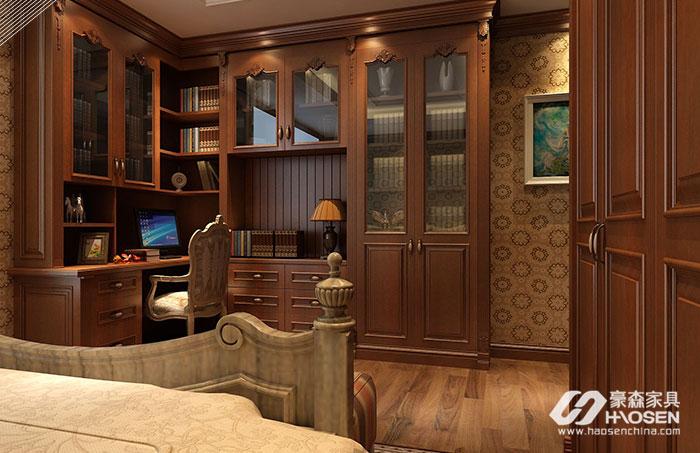 美式书柜的特点有哪些?