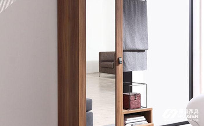 小户型不同的衣柜穿衣镜的安装方法