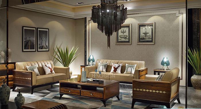 豪森缘创专属于您的-高端乌金木家具