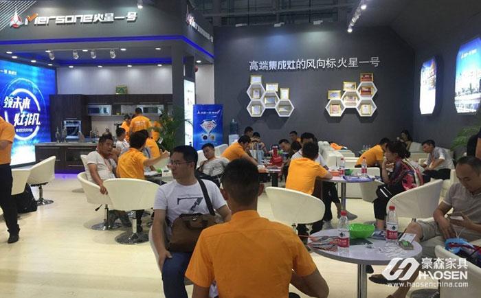 广州第十九届中国建博会—智能家居展位人气爆棚
