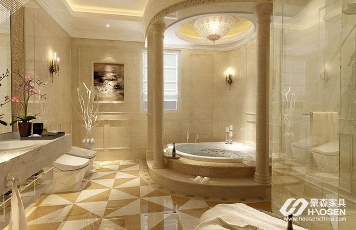 家居中挑战艺术的地方:卫生间该如何装饰?