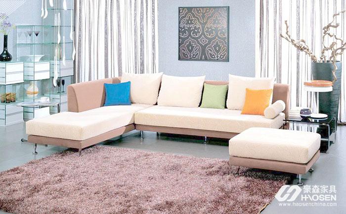 怎么挑选合适的布艺沙发?布艺沙发选购的注意事项