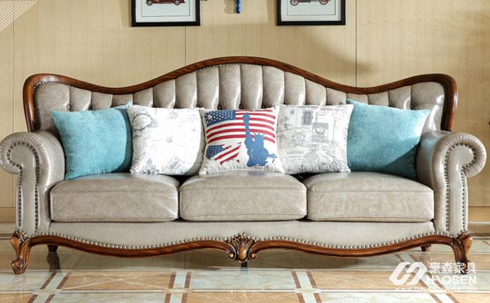 如何选购水曲柳沙发?美式客厅水曲柳沙发的选购技巧