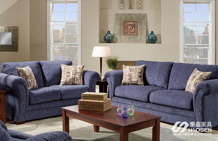 欧美客厅绒布沙发保养的五大技巧