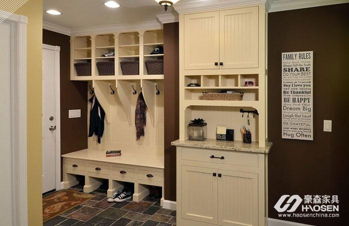 美式客厅鞋柜要如何摆放?美式客厅鞋柜的摆放技巧
