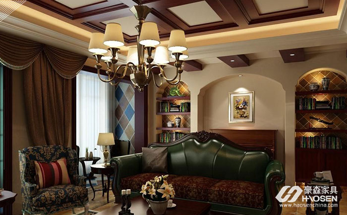 美式客厅仿皮沙发的清洁与保养技巧