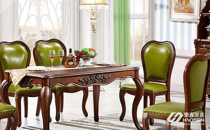 餐椅怎么摆放风水更好?美式餐厅餐椅的摆放技巧