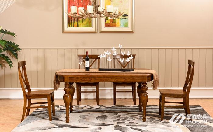 美式餐厅餐桌的摆放要注意哪些风水问题?
