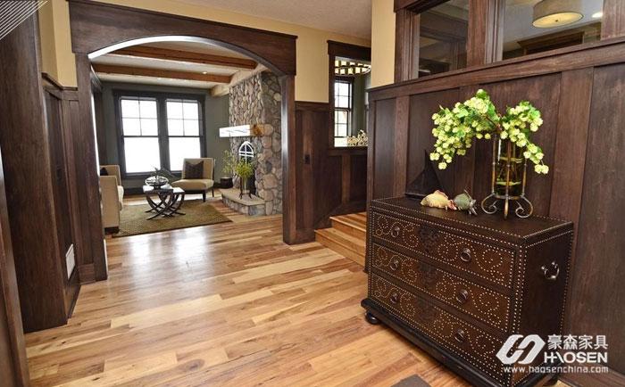 美式客厅玄关柜的摆放风水禁忌有哪些?