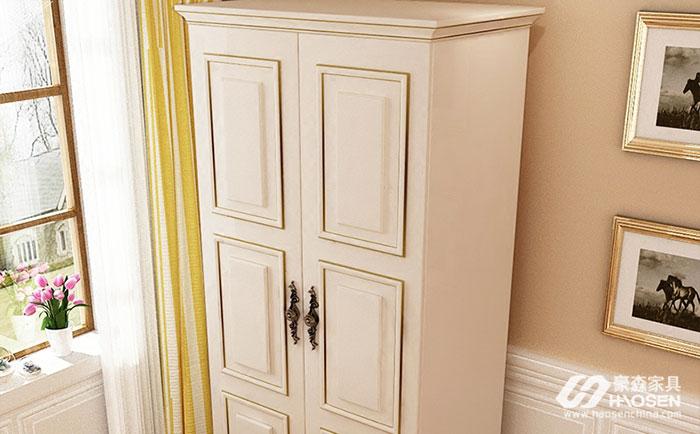美式小户型衣柜的大小有哪些要求?