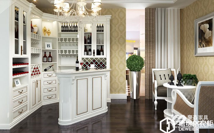 给大家介绍的欧式实木餐厅吧台的摆放风水的注意事项
