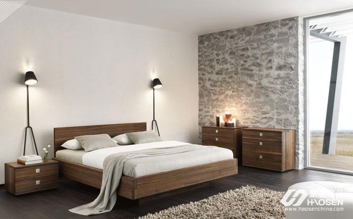 小户型美式床头柜的摆放要注意哪些技巧?