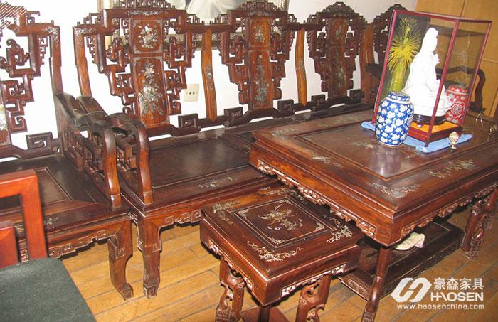 红木家具不存在过时,越用越值钱!