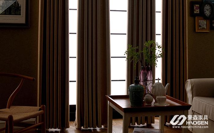 窗帘的选择给自己的卧室保持自己秘密