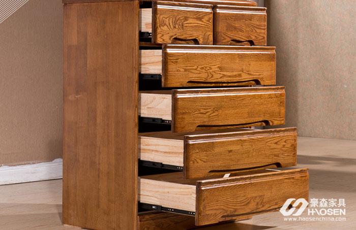 欧美卧室榆木斗柜的保养技巧比其他材质更需要注意温度!