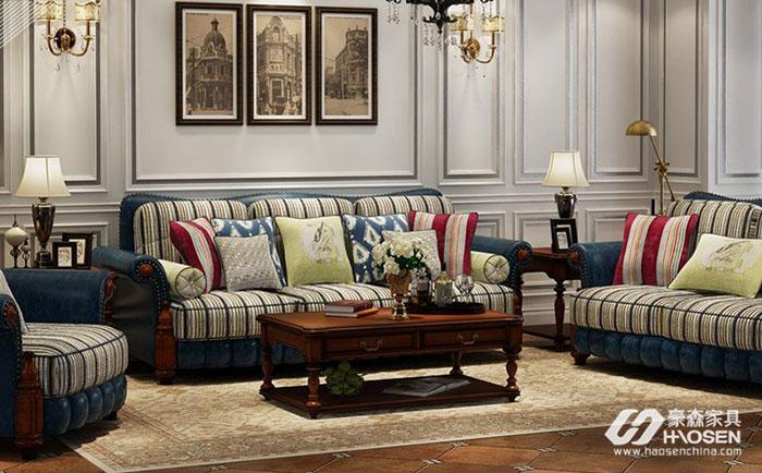 小美式沙发尺寸选购的注意事项有哪些?