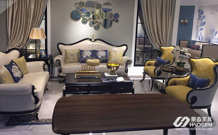 欧式实木沙发家具的四大风格特点介绍
