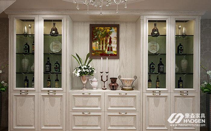 欧式实木酒柜保养好就相当于将将自己美酒保管好