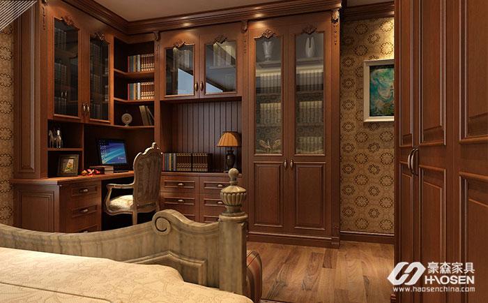 收藏爱书的美式书柜你知道有哪些特点么