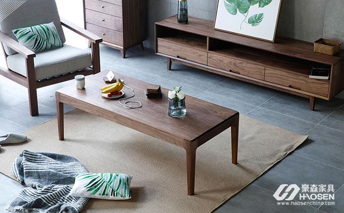 现代美式风格茶几和沙发应如何搭配?这几点要注意着