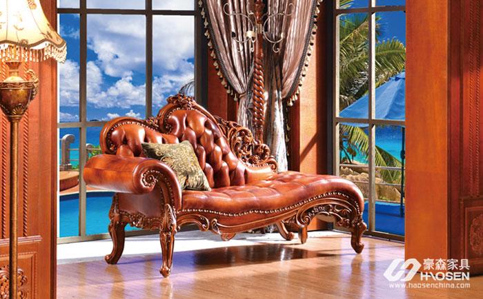 美式客厅贵妃椅的摆放技巧介绍,贵妃椅摆放有妙招!