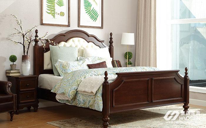 美式实木床头柜怎么摆放风水好?美式床头柜摆放风水