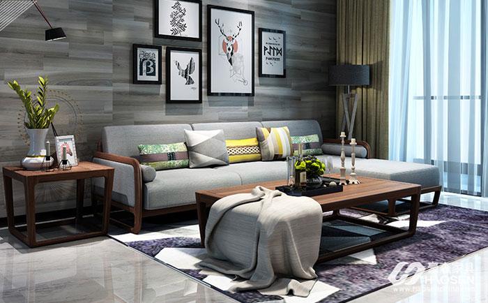 客厅实木沙发怎么挑选,客厅实木沙发的选购技巧