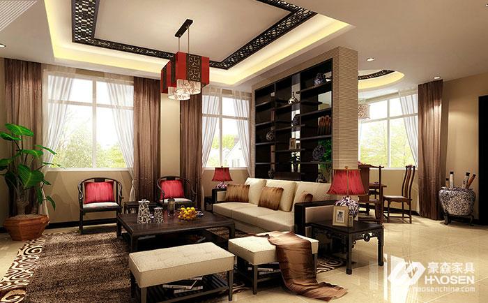 新中式别墅家具的设计原则是什么?新中式设计形式解答