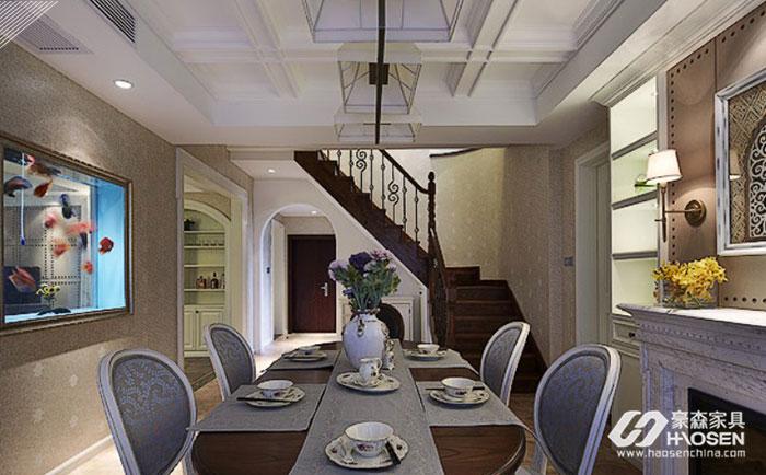 美式轻奢家具风格原来还可以搭配出这种效果
