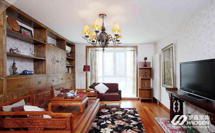 充满个性的中式家具与欧式风格搭配的混搭,原来可以这样