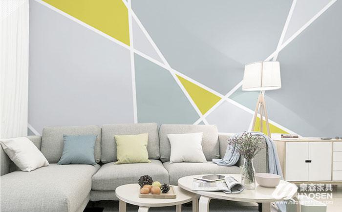 北欧风格装修的住宅搭配什么颜色的墙纸好看