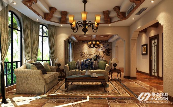 欧式家具西班牙风格特点