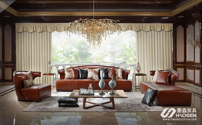 别墅轻奢风格沙发家具选购时需要特别注意什么?