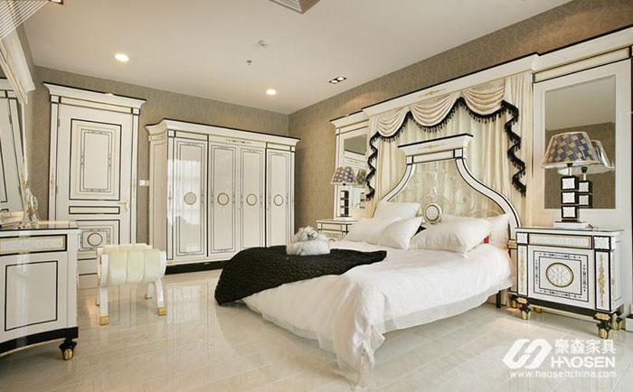 教您学会欧式卧室家具是如何摆放的,摆放小技巧