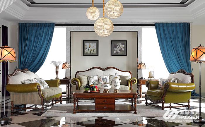 美式实木家具沙发常用的材料是哪些,都有什么区别?
