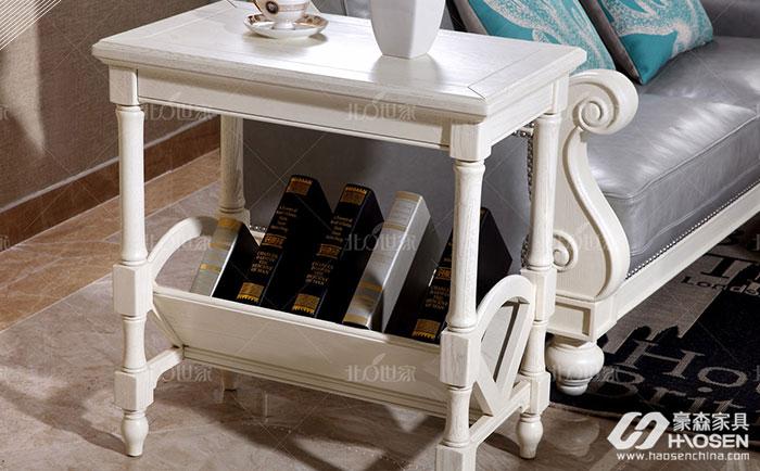 白色欧式实木家具如何摆放?白色欧式实木家具摆放技巧