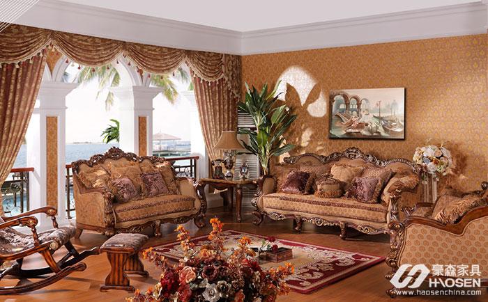 卧室沙发如何布局?大户型美式卧室沙发布局风水介绍