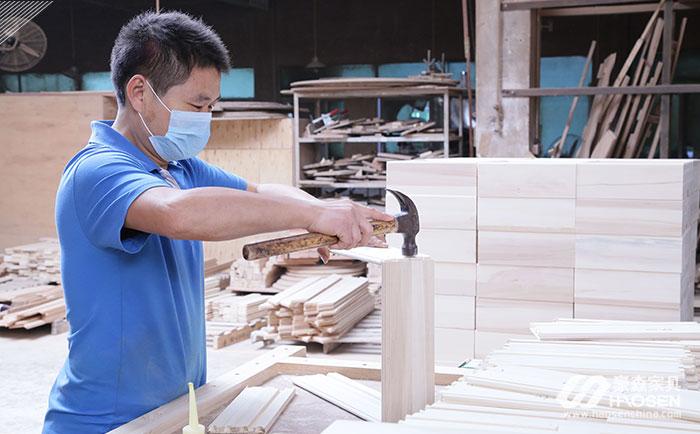 豪森家具的生产人才资源