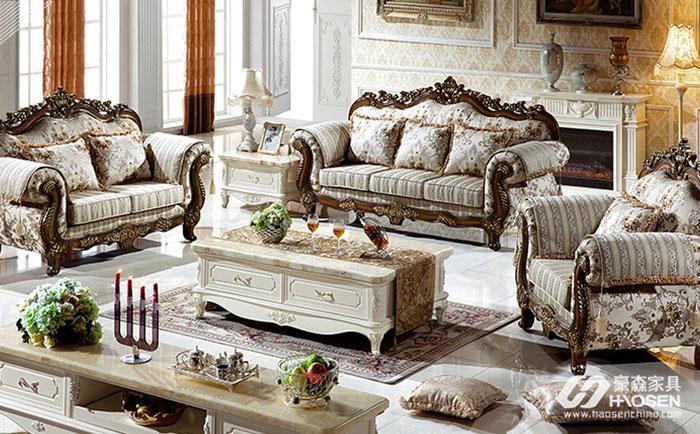 欧式布艺沙发选购技巧与注意点