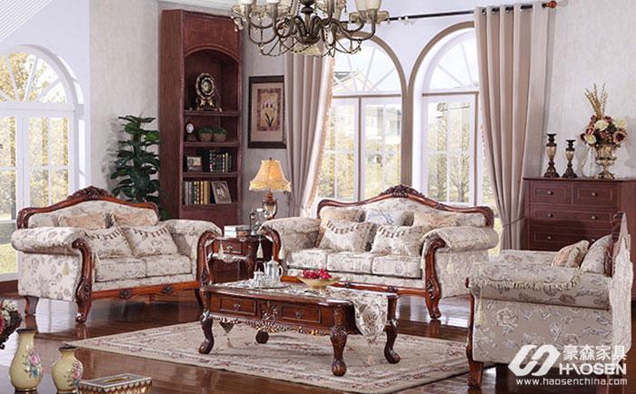 简欧沙发有哪些尺寸?大户型简欧沙发尺寸介绍